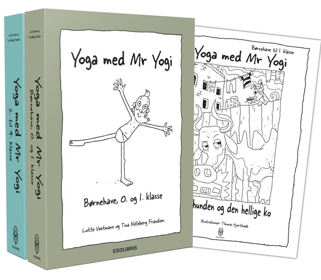 Yoga med Mr. Yogi Udgivelser