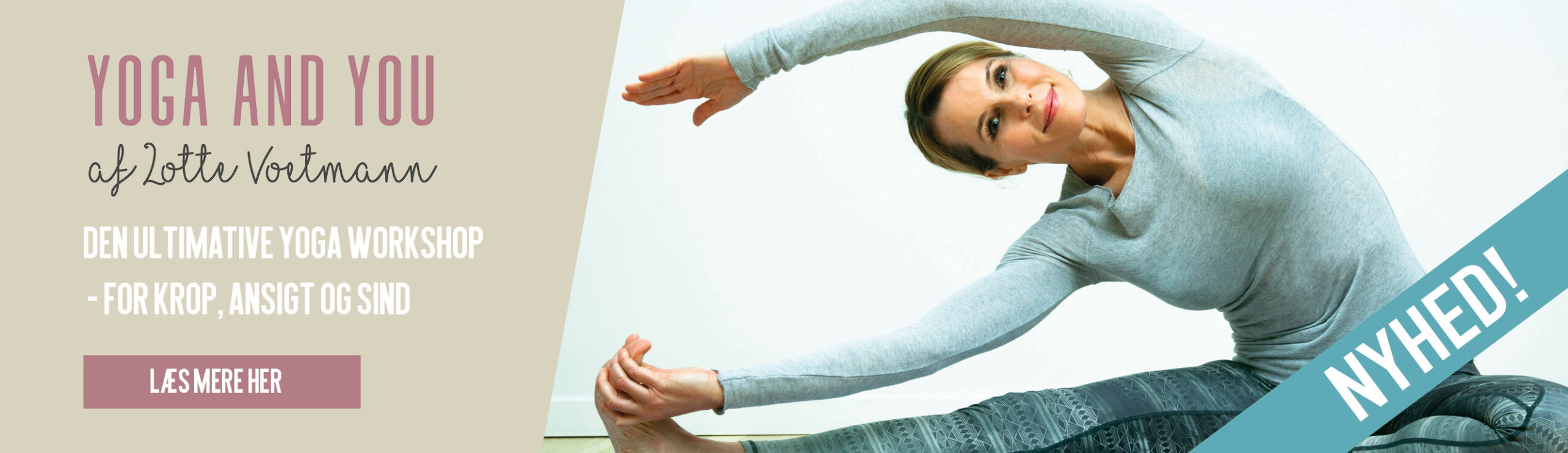 Yoga and you banner